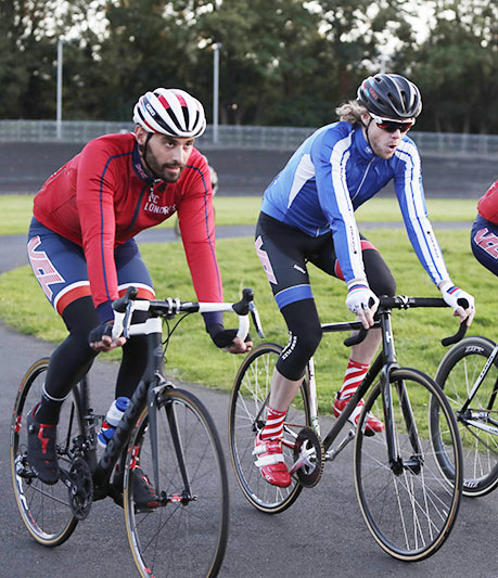 Cycling in at the Dulwich Velodrome