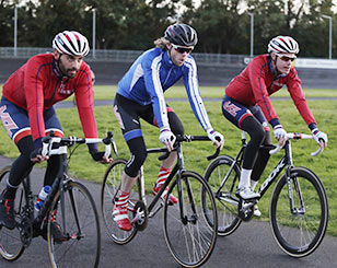 Cycling at the Dulwich Velodrome