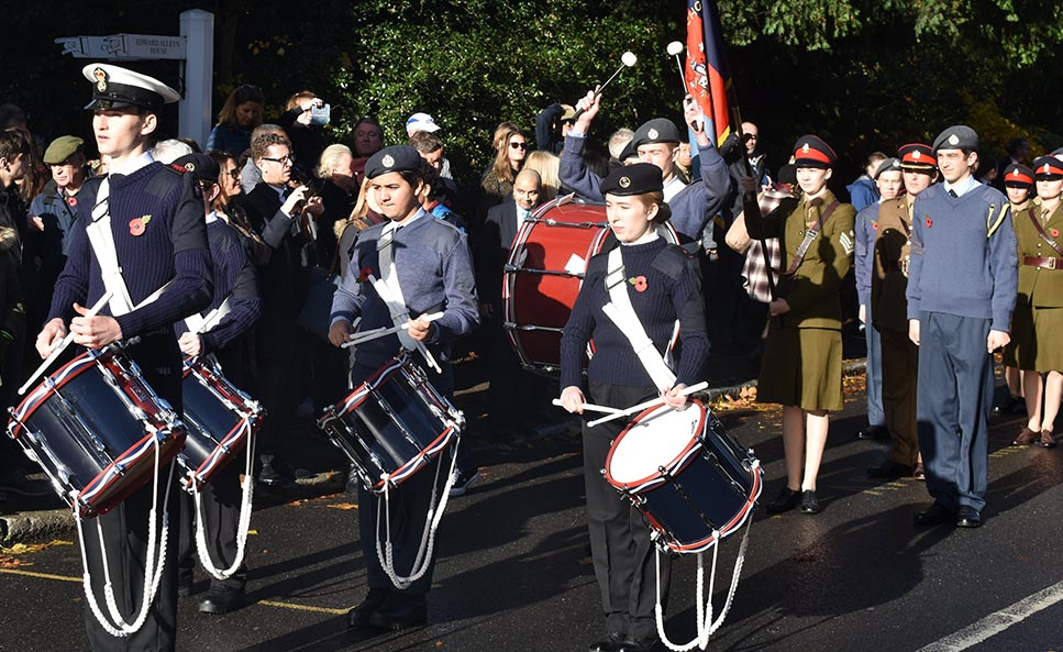Dulwich commemorates war centenary