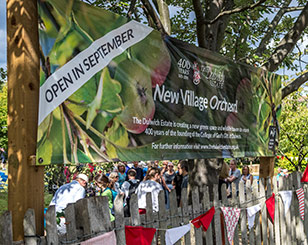 New Orchard and Heritage Trail Open in Dulwich